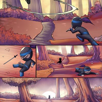 Gbenle maverick tiny ninjas 4