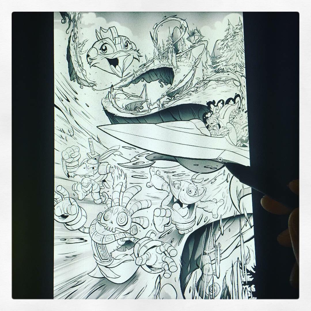 Stormblade Origin Story pg 02 of 04