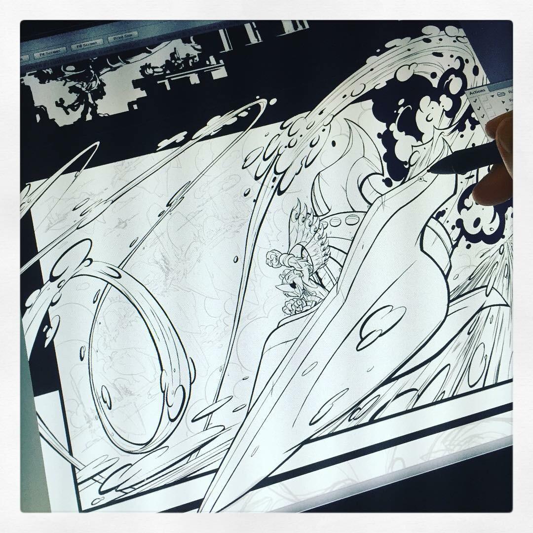 Stormblade Origin Story pg 03 of 04