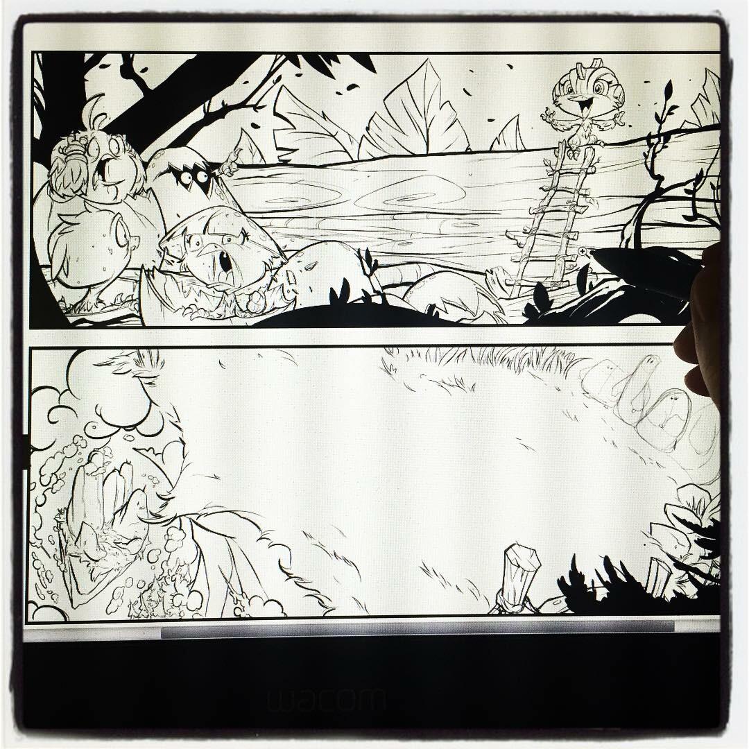 Stormblade Origin Story pg 01 of 04