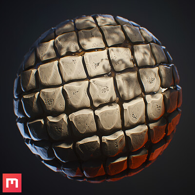 [Mixer 2020] Stylized Rock Tiles