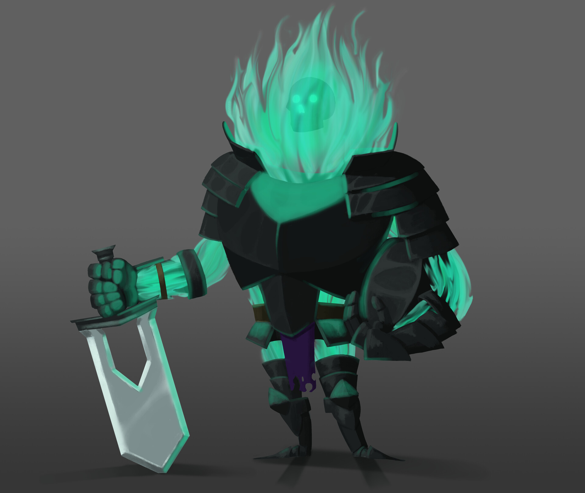Sir Ghosty of the Armor Realm