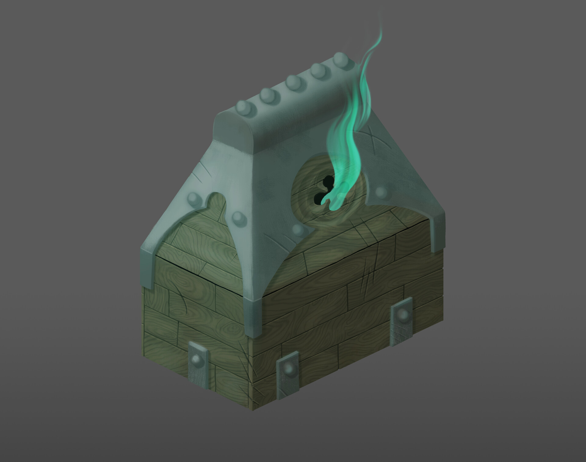 Sir Ghosty's chest (ectoplasm comes free)