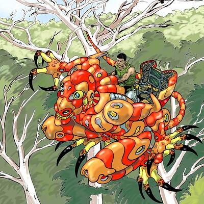 Vincent bryant spider monkey mech