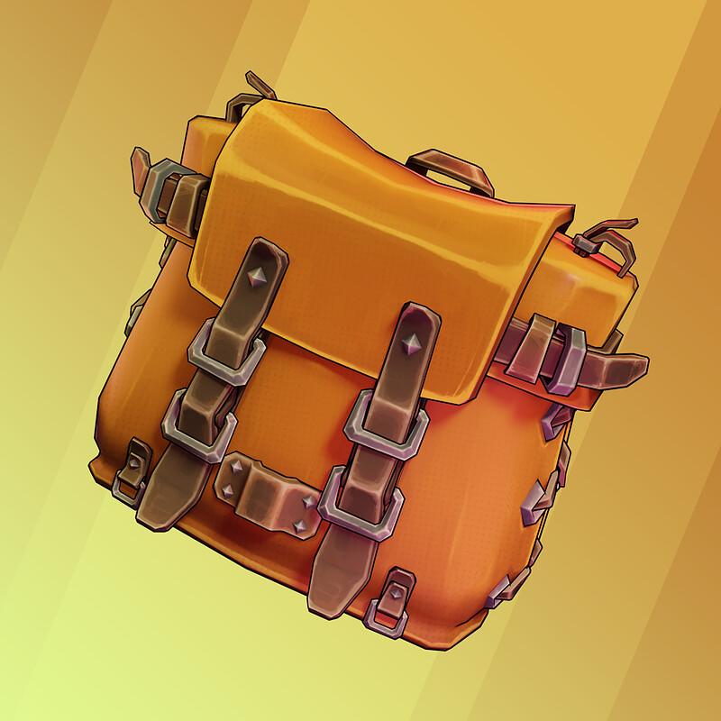 Leather Backpack - STORY Wildlands Props