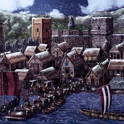 Daniel acosta aldea vikinga g