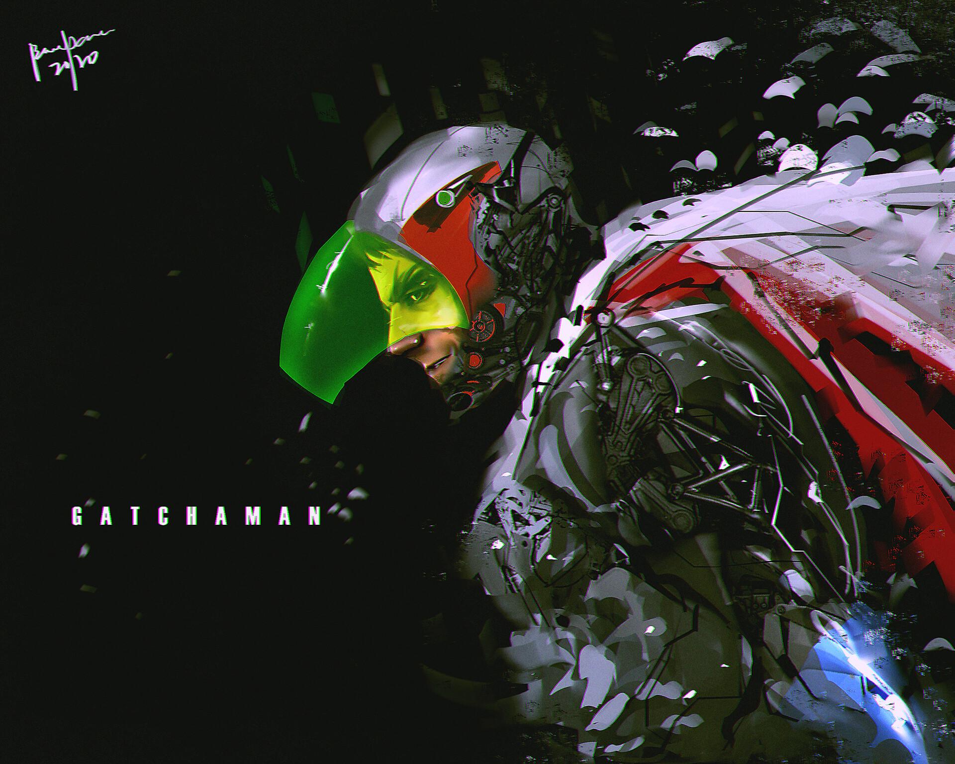 fanart - gatchaman