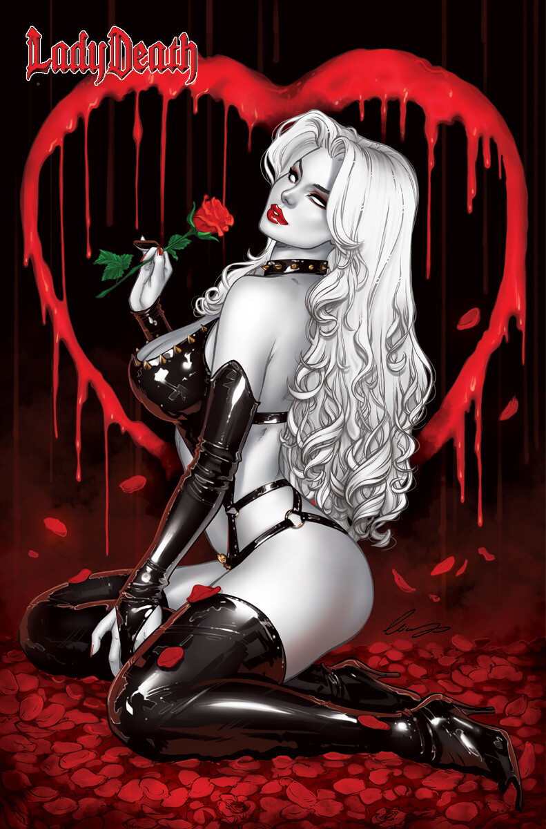 Lady Death: Lingerie #1 - Black heart Edition