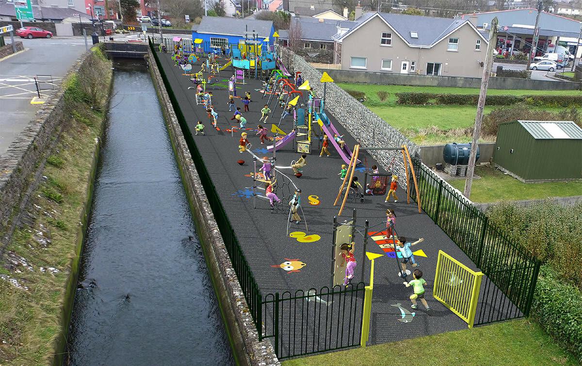 Playground montage view 1