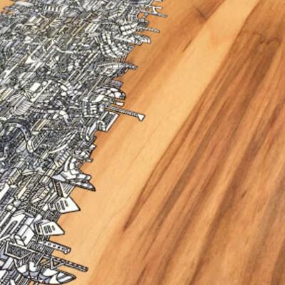 David blomo wood floor