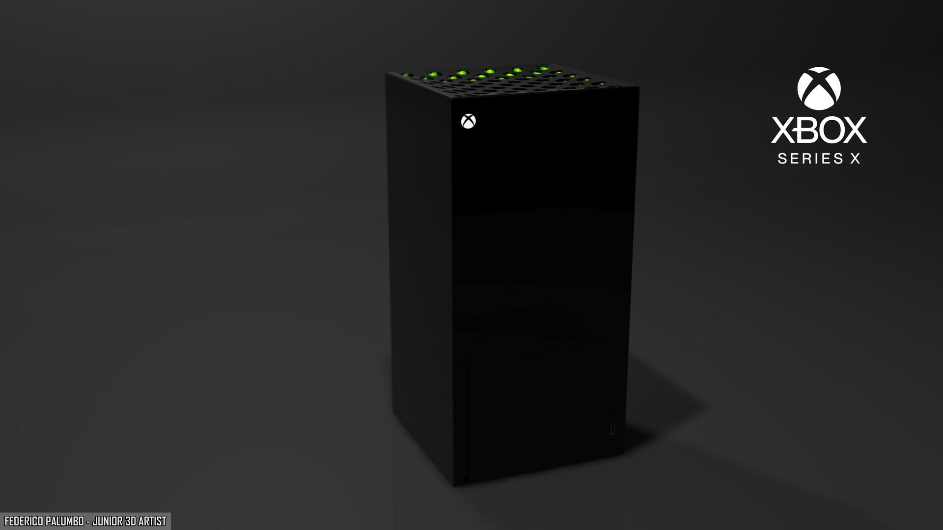 Artstation Xbox Series X Design Federico Palumbo