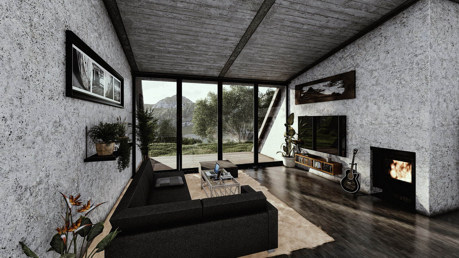 House render inside