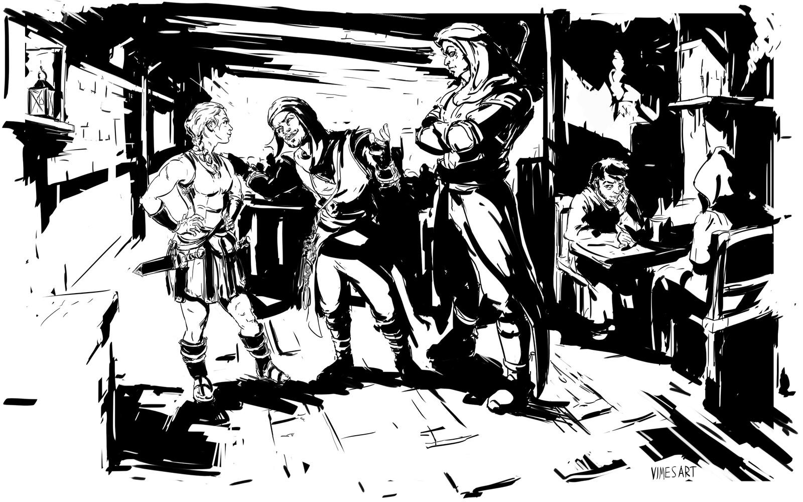 Albion Ink Illustration Chapter 3