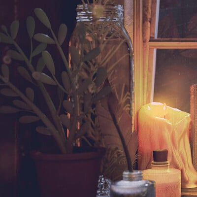 Fireflies and Candles