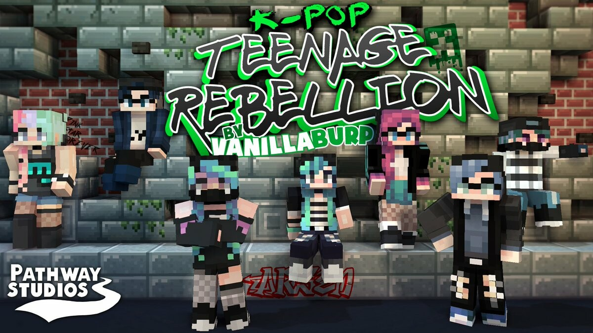 K-Pop: Teenage Rebellion [Player Skin Pack]