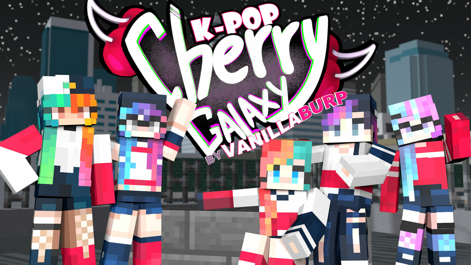 K-Pop: Cherry Galaxy [Player Skin Pack]
