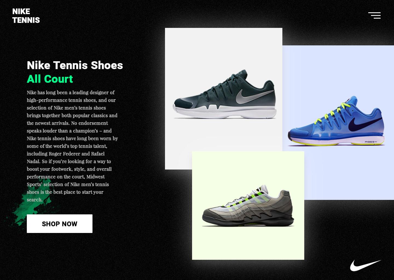 ArtStation - e Commerce Tennis Nike