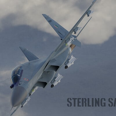 Sterling saini render su 30mki above the clouds hdri 1 with tag