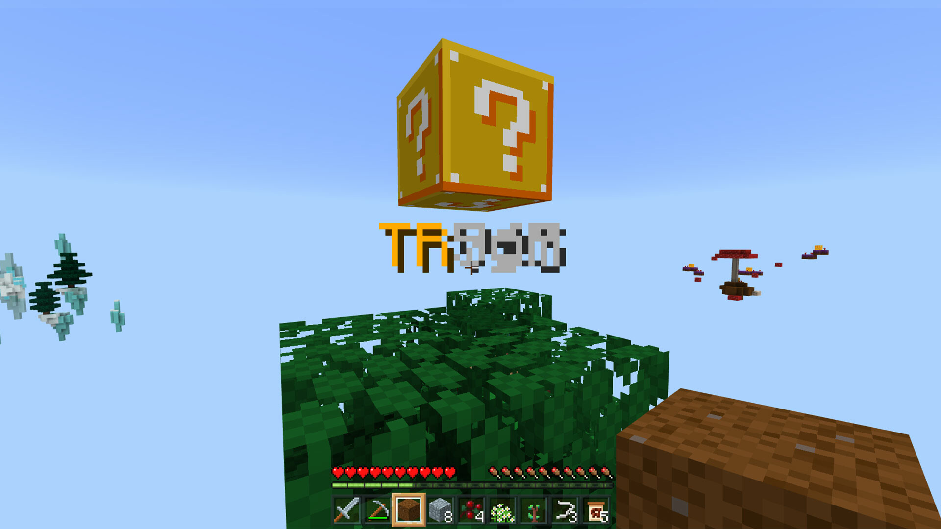 Triggering our LuckyBlock! Will we get a Trick or a Treat?