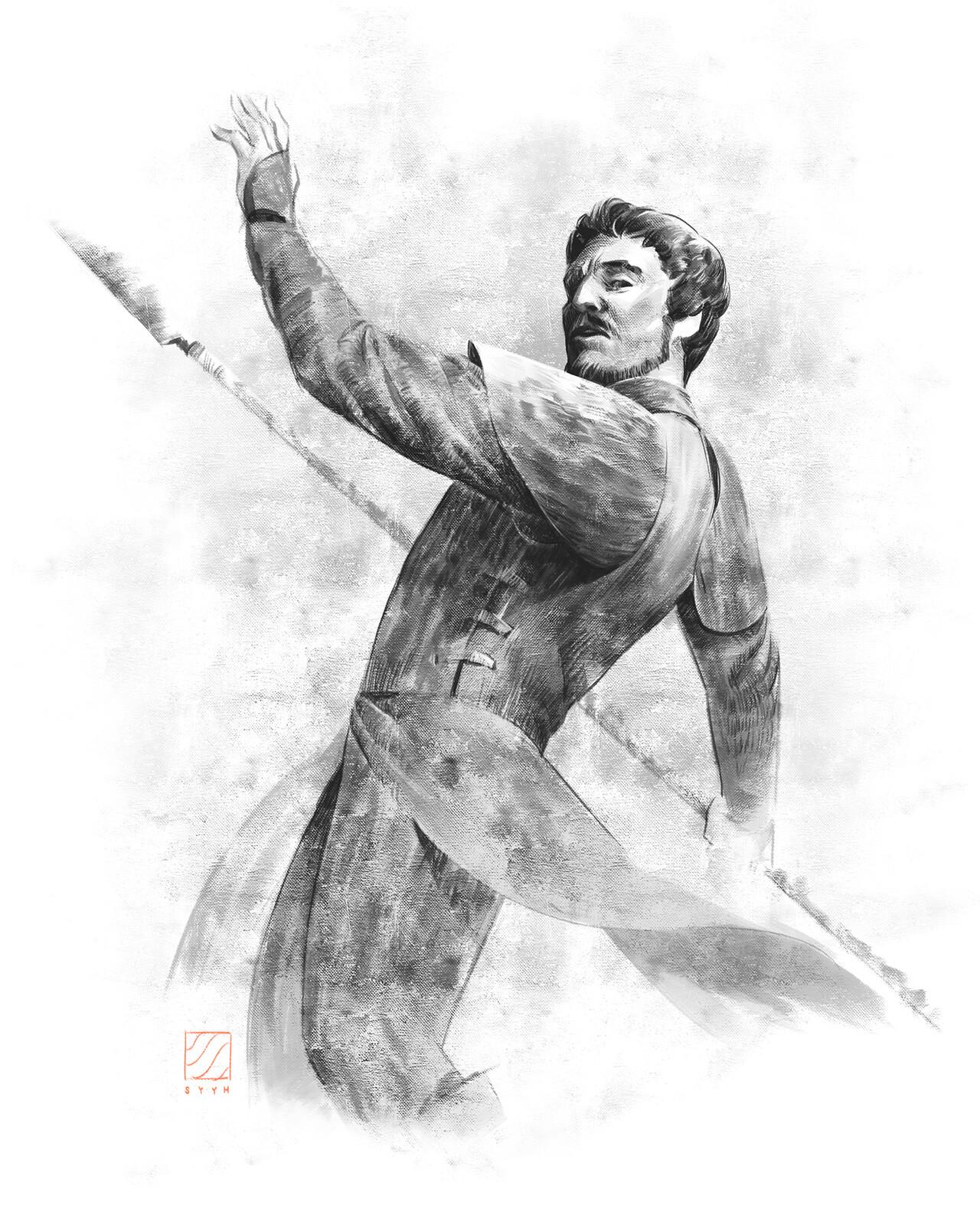 Oberyn Sketch