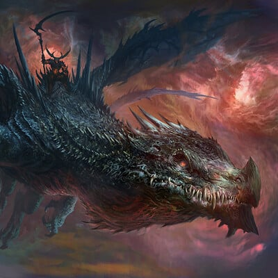 Antonio j manzanedo demon dragon rider manzanedo