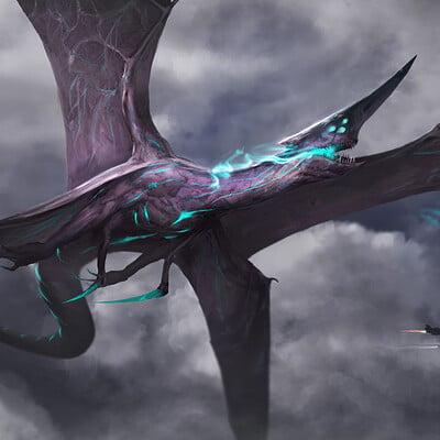 Eryk szczygiel flying monster