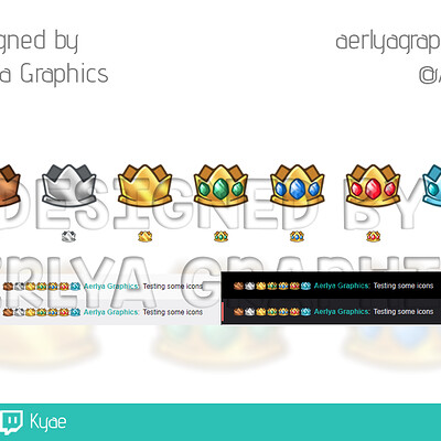 Aerlya graphics sample cheerbadges kyae