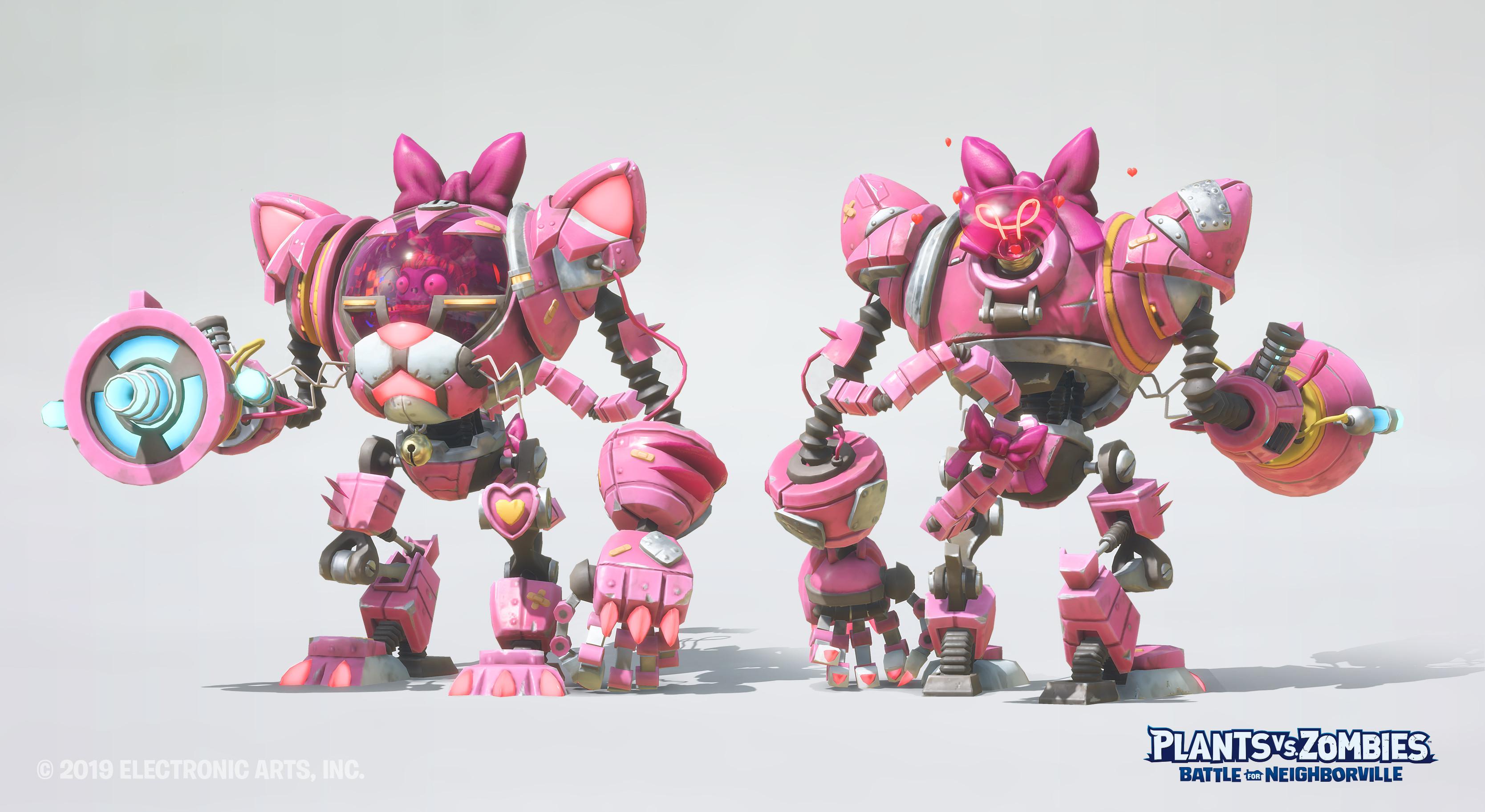KittyBot Mech Model  : Daniel Pope Textures  :  Olivier Couston