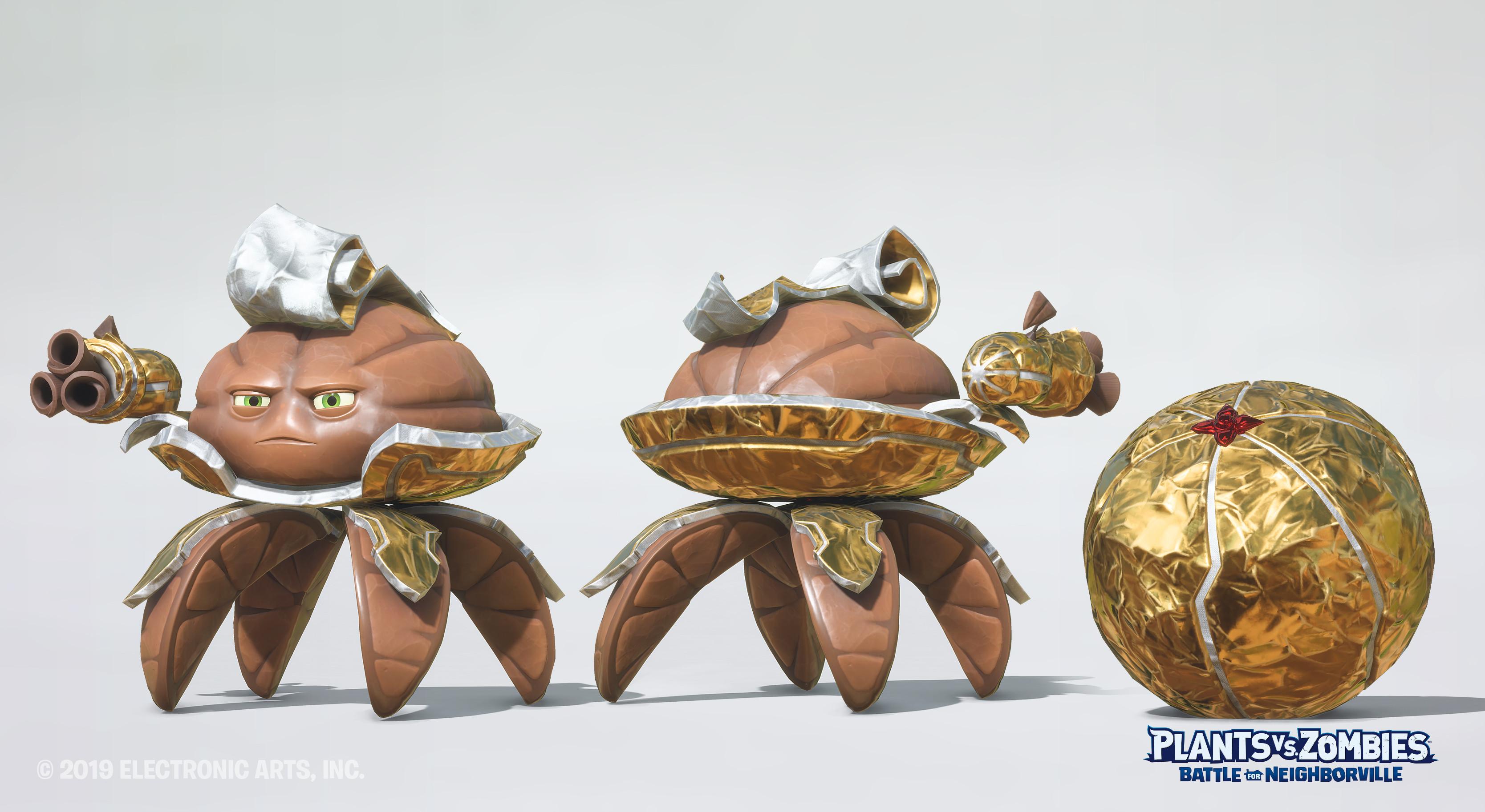 Chocolate Citron Model : Maksym Zavalishyn Textures  : Olivier Couston