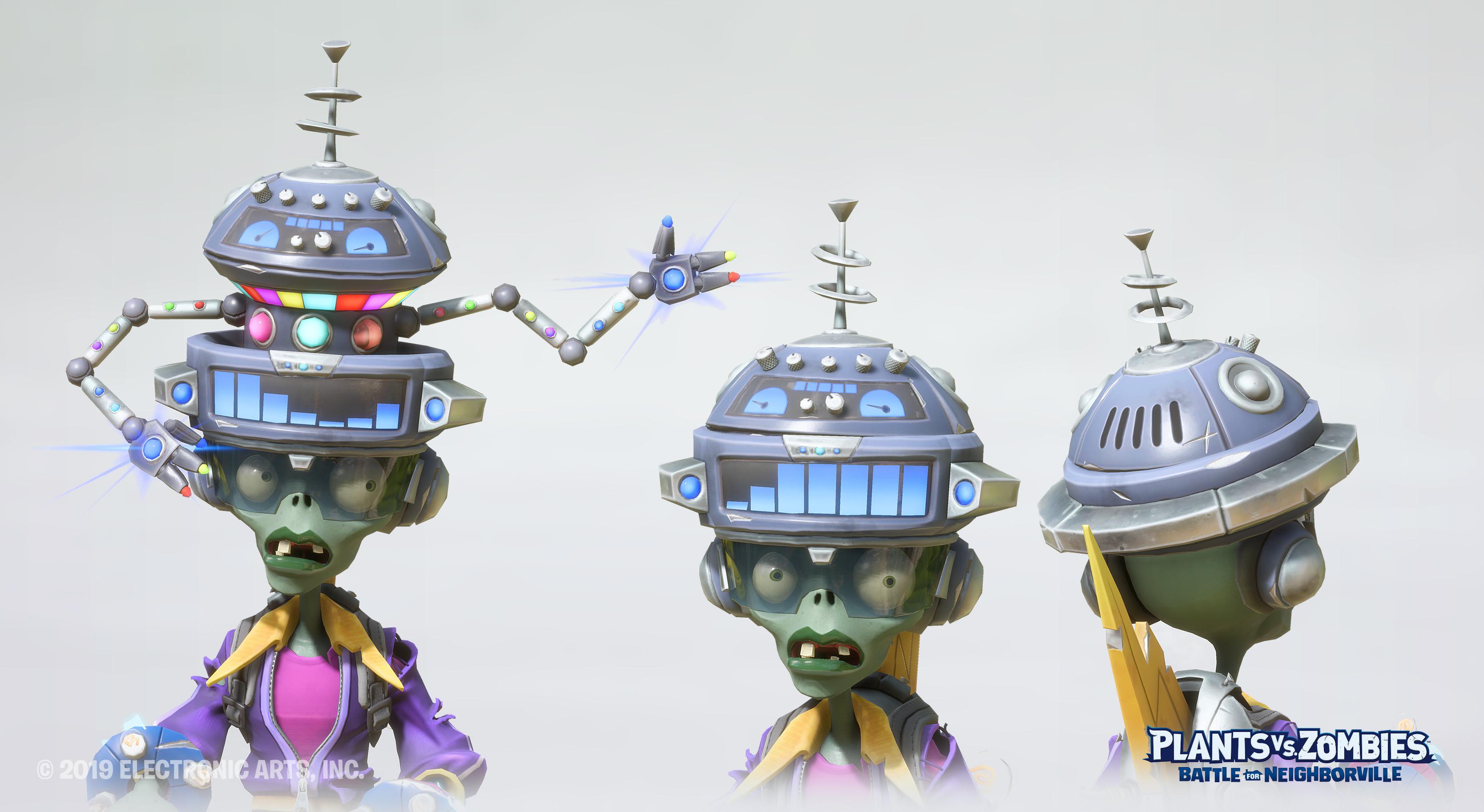 Dancing Robot Helmet Model : Olivier Couston Texture : Daniel Pope