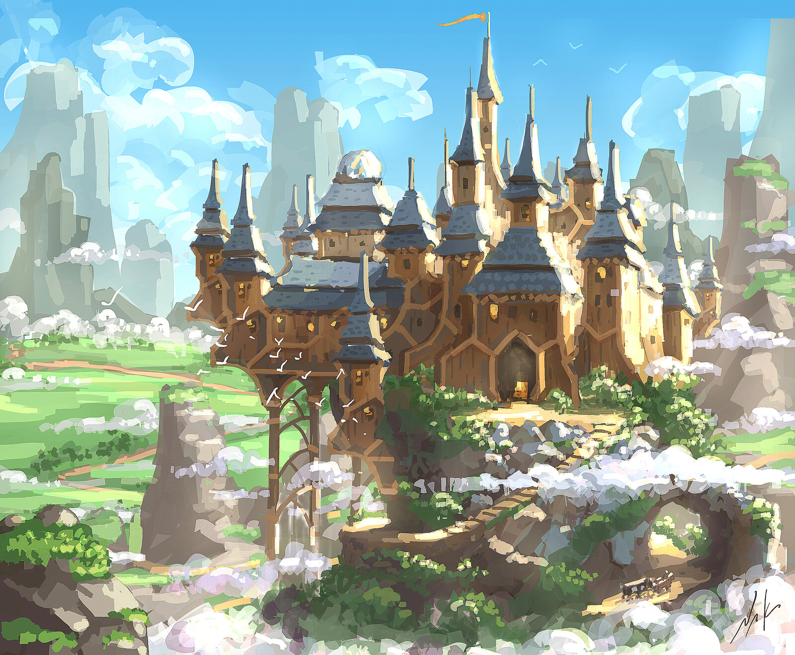 Wooden Castle...