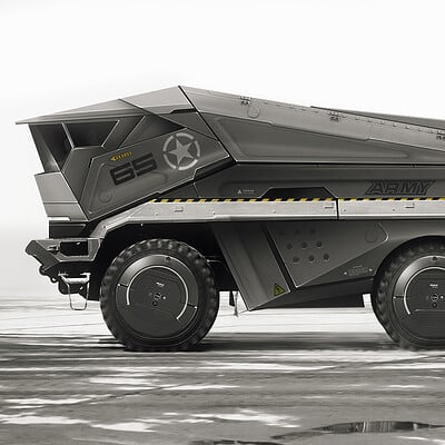 Encho enchev armored vehicle concept 1