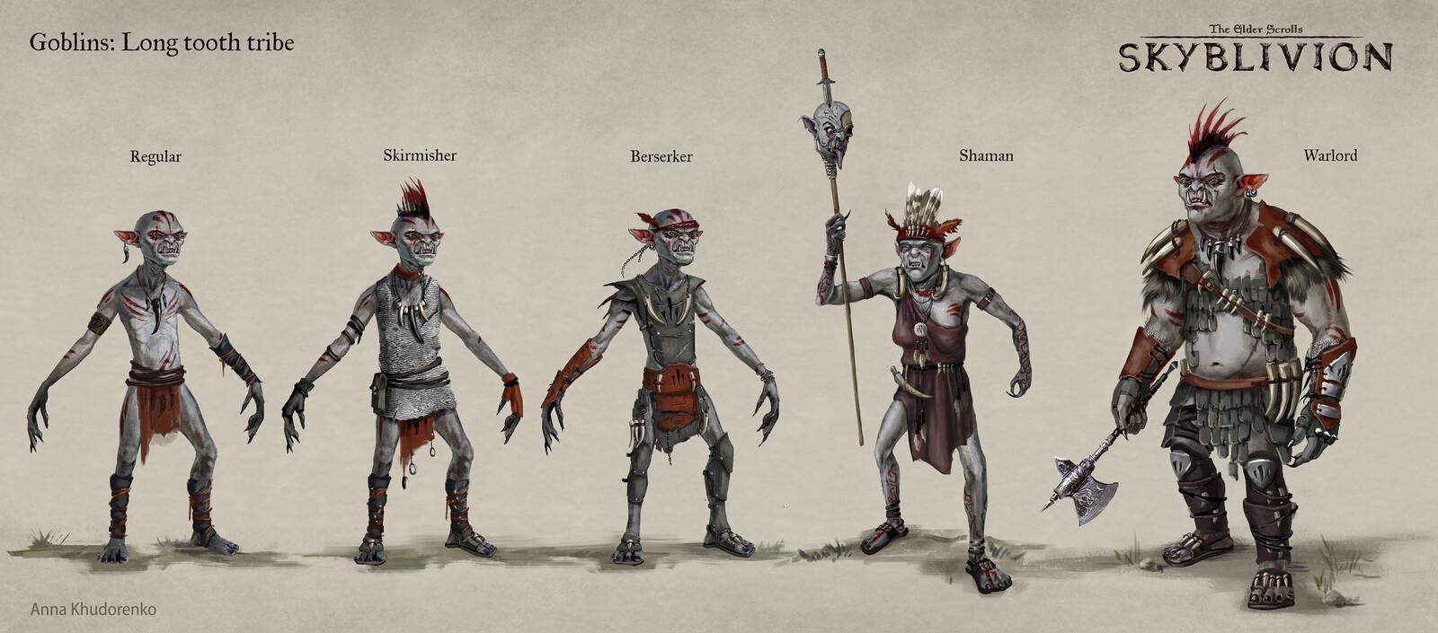 Skyblivion: Goblin tribes