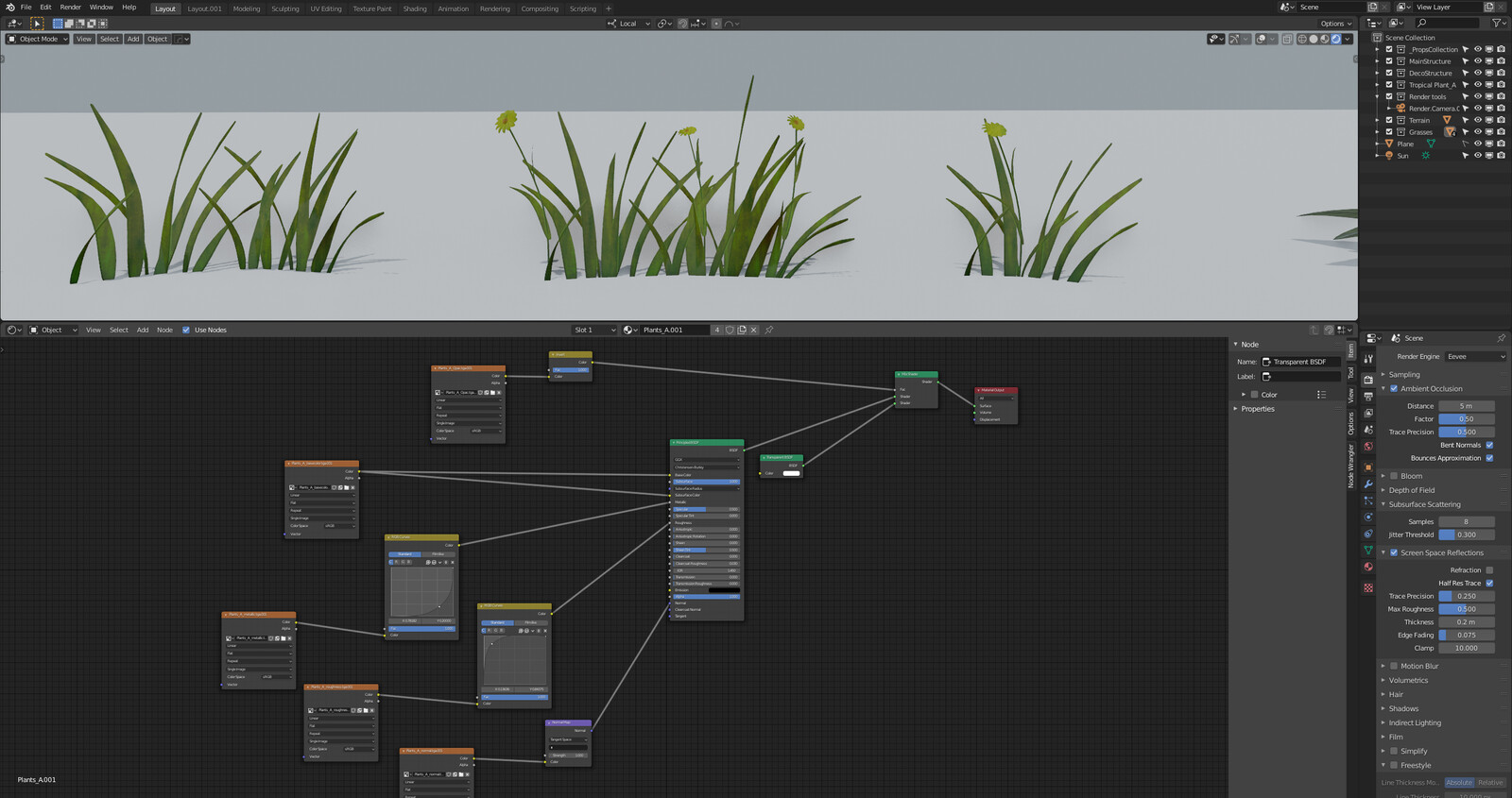 Enchanted project Working Progress Assets Grasses Shader Graph