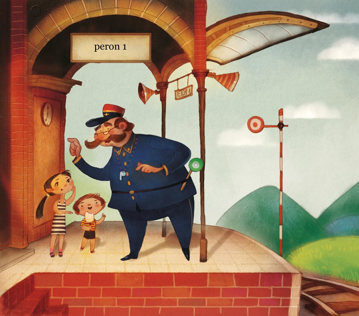Station, kids