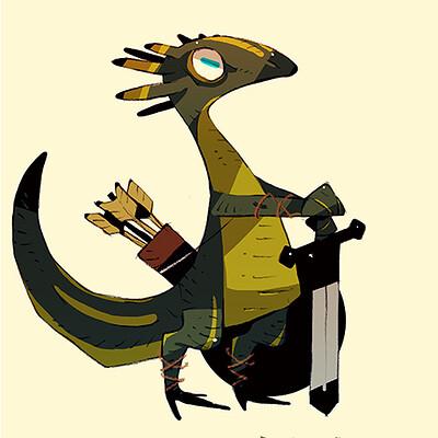 Satoshi matsuura 2020 02 11 lizard man s