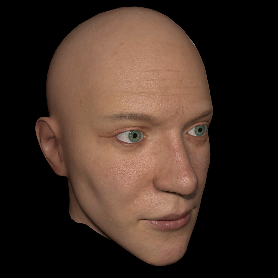 [WIP#2] Custom Multi-channel Textures for Faces (TEXTURING.XYZ)