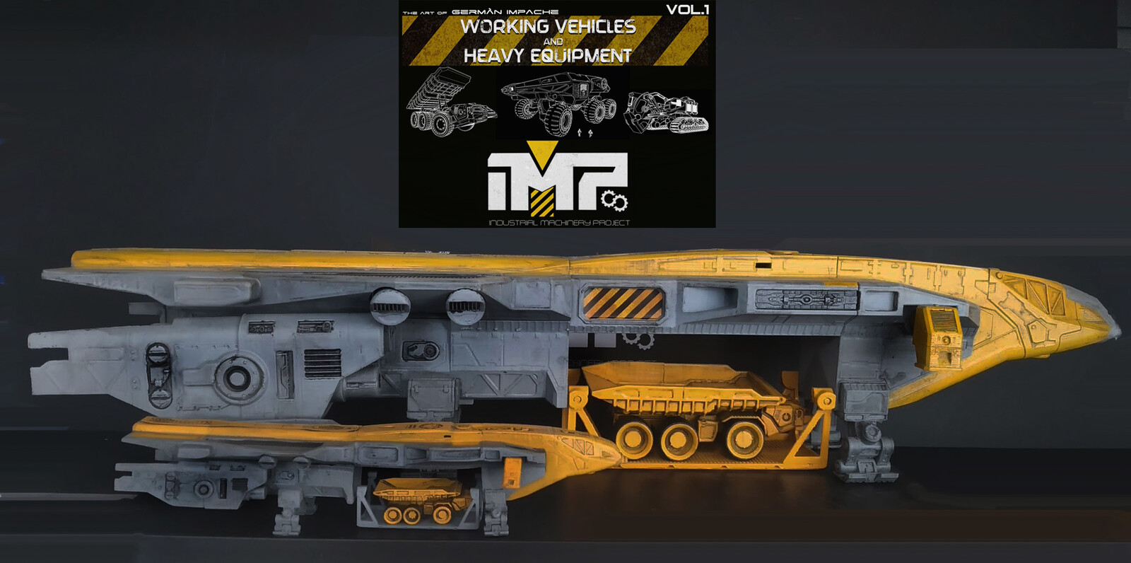 IMP industrial machinery project comparison scale