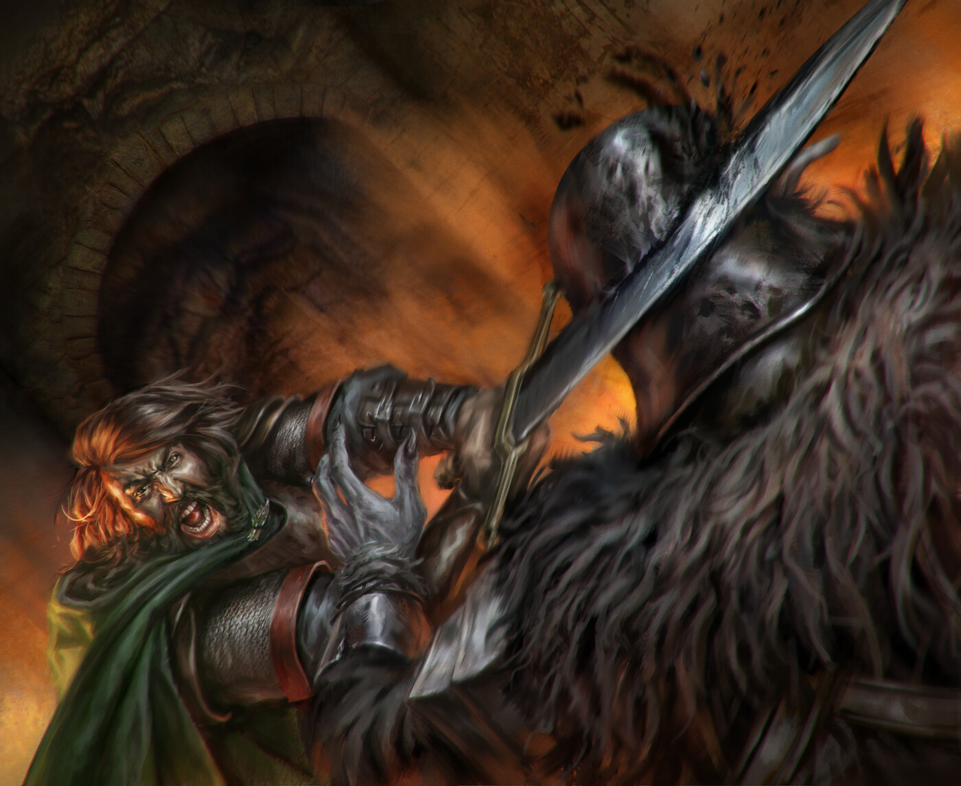 Strength and Courage | Vengeance of Mordor