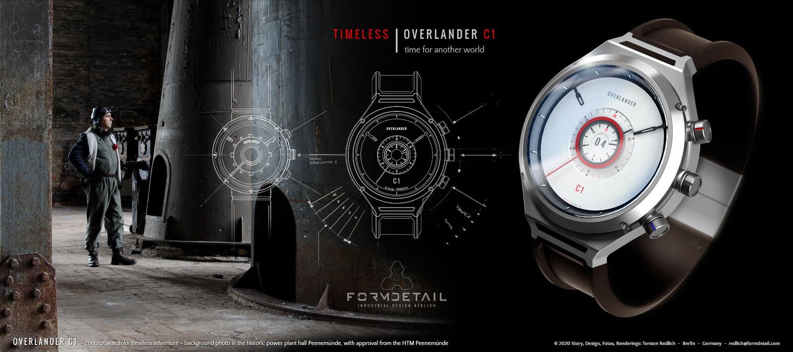 OVERLANDER C1 - concept watch