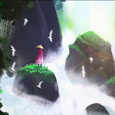 Taha yeasin day 131 the waterfall
