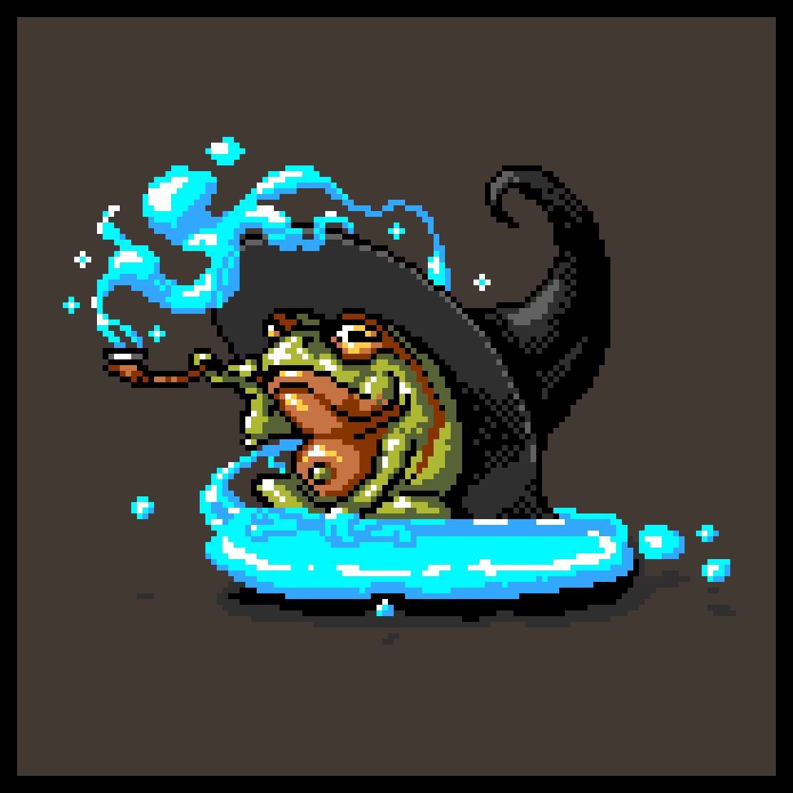 RPG Party - Wizard Frog