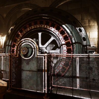 Auxiliary Generator Room