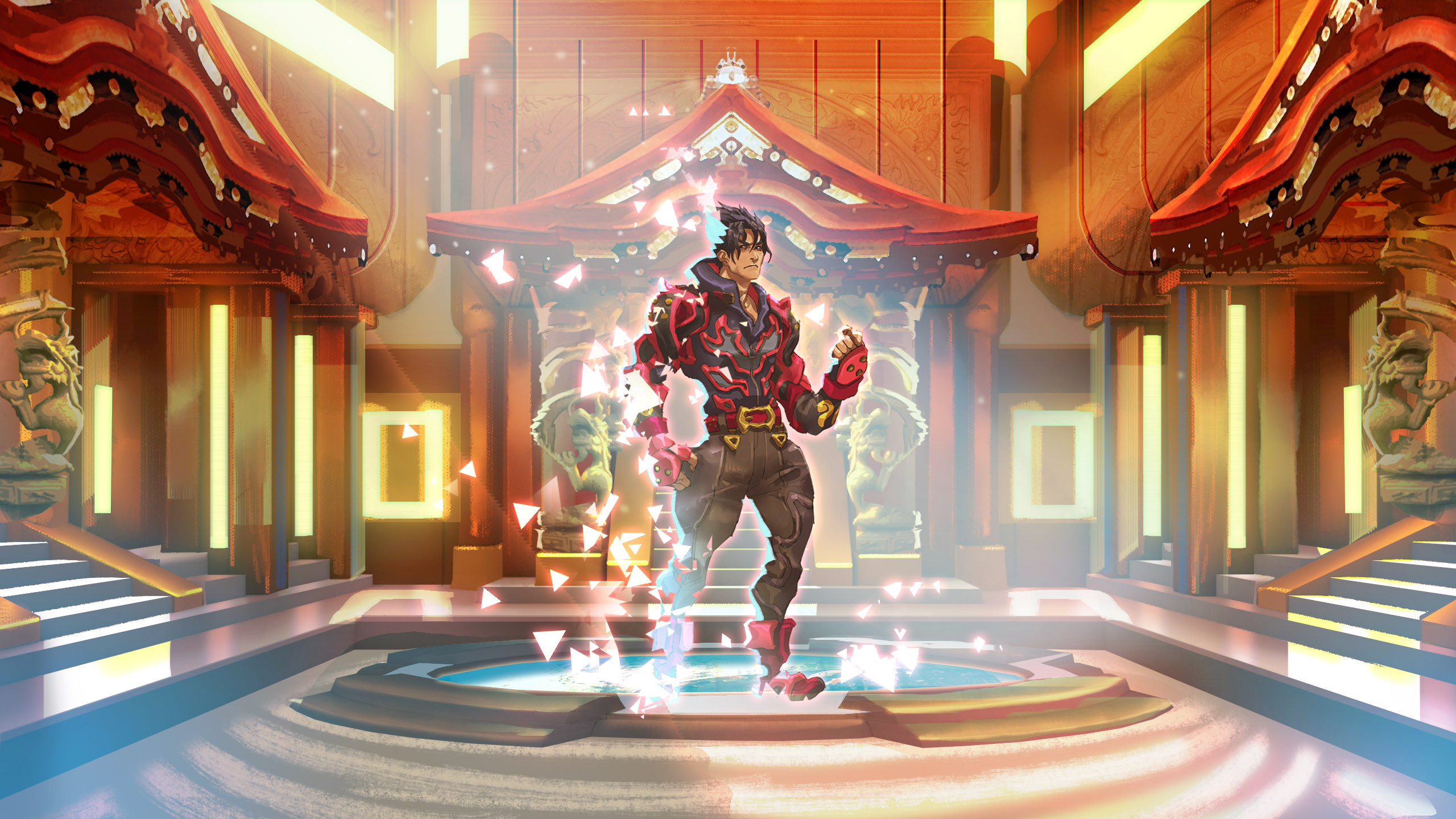 Character select dojo menu concept