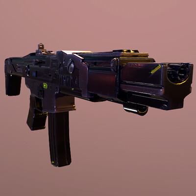 Slayver slayverson sci fi rifle 3
