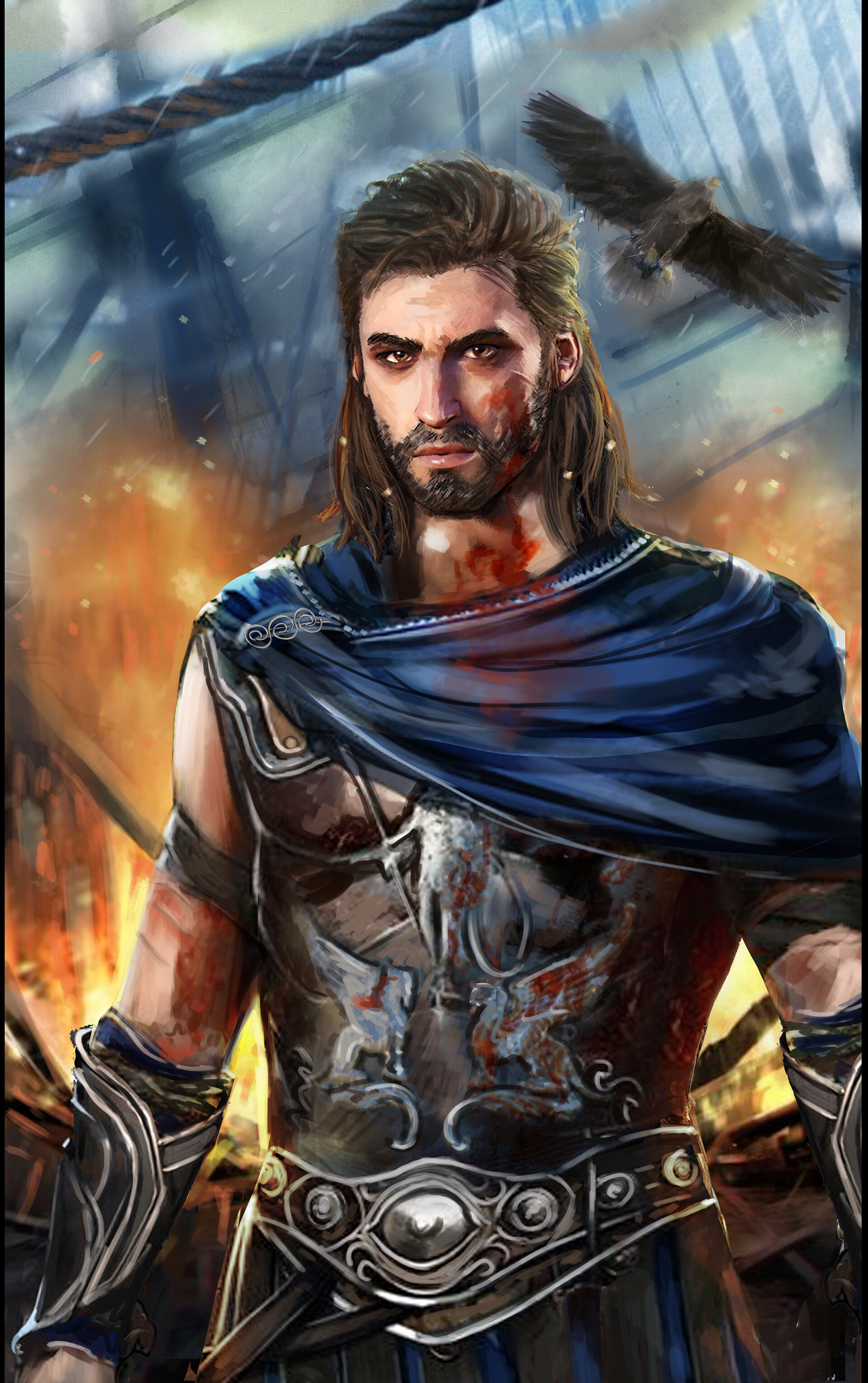 Artstation Assassin S Creed Odyssey Alexios Fanart Mel Any