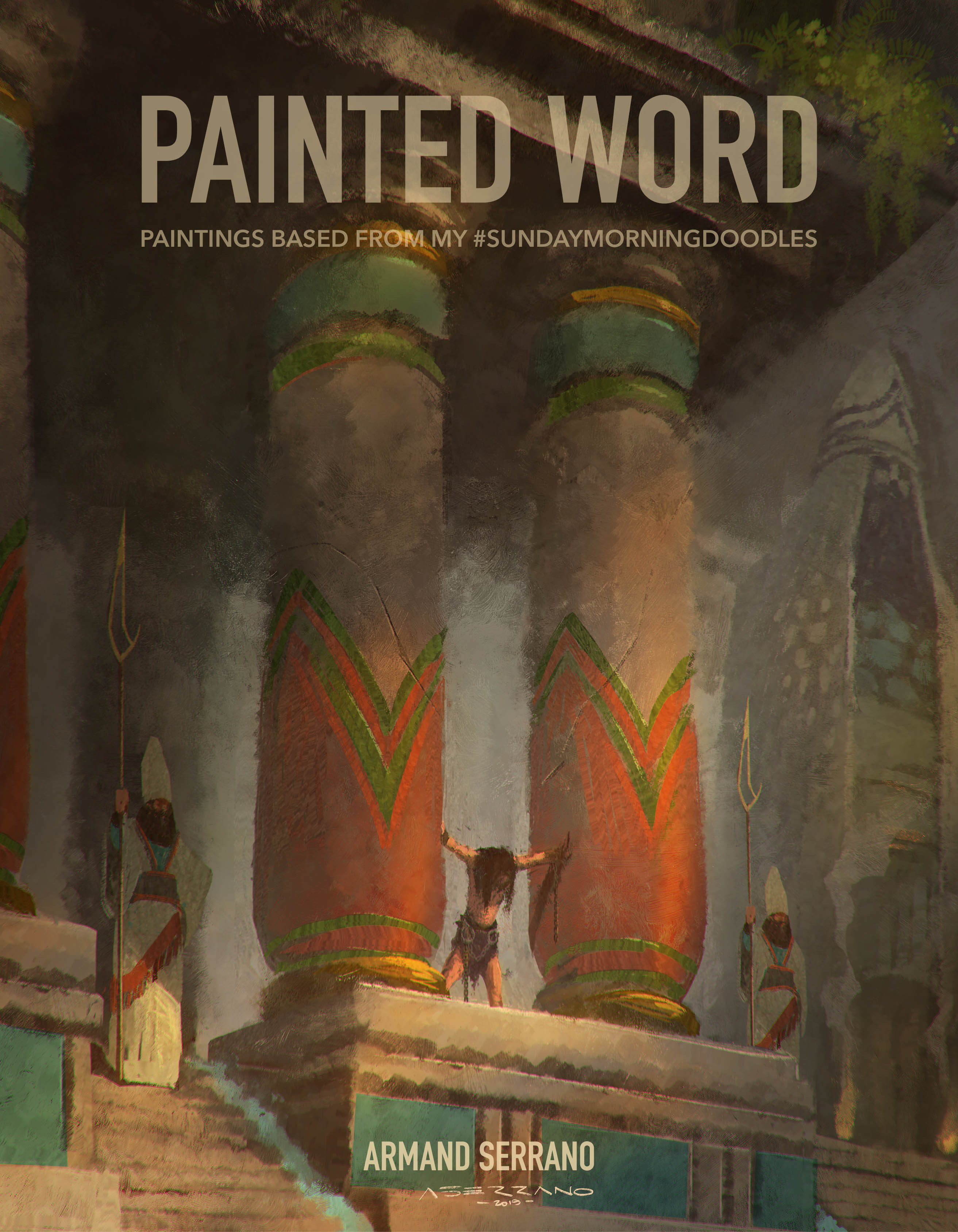 Cover of my book, Painted Word.