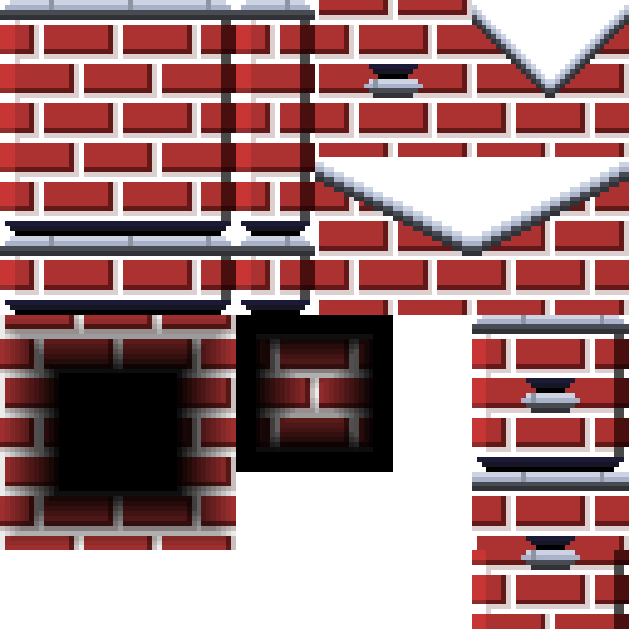 Main brick tileset w/ Concrete Tops