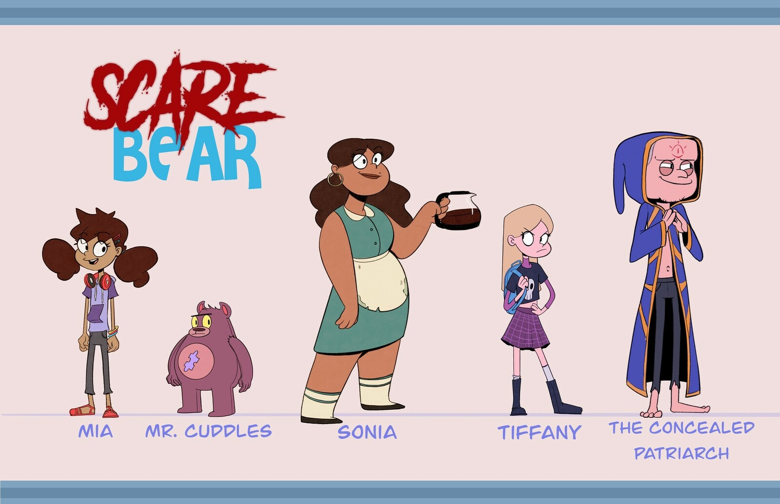 Scare Bear - Line Up