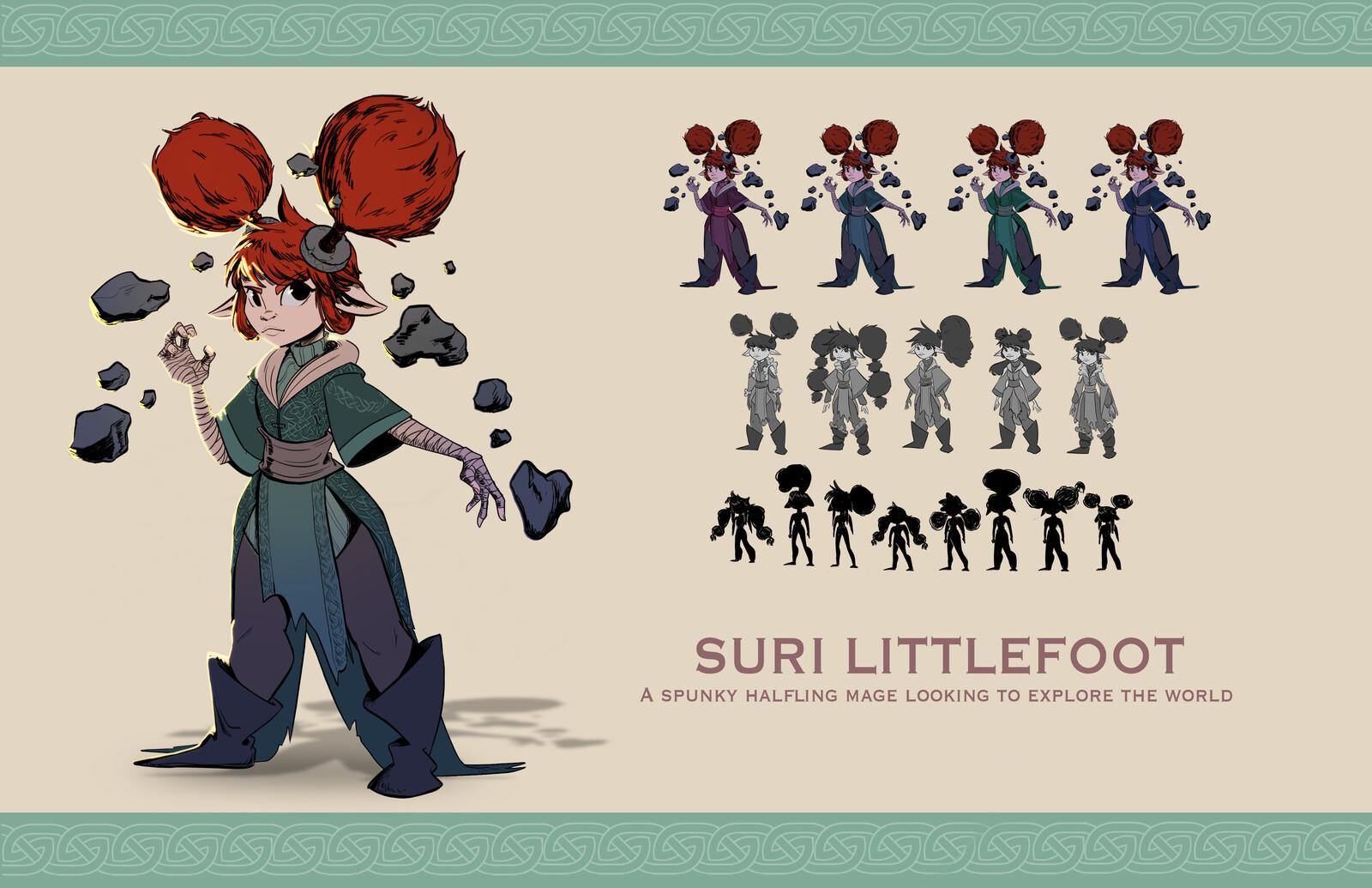 Suri Littlefoot - Character Exploration